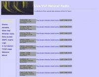 DXZone Live VLF Natural Radio