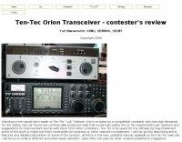 Ten-Tec Orion Review