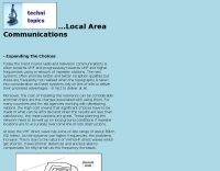 Local Area Communications