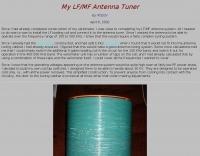 DXZone LF MF Antenna Tuner