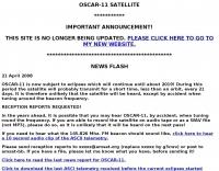 DXZone OSCAR-11 Satellite
