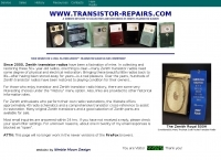 Zenith Transistor Radio Repairs