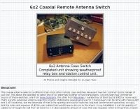 Remote Coax Switch