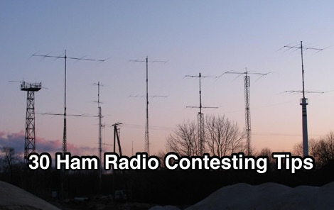 30 Ham Radio Contesting Tips