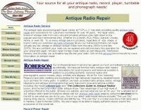 DXZone Antique radio repair