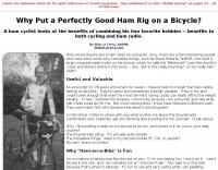 DXZone Ham Rig on a Bicycle?