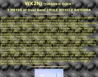 WX2NJ JPole bicycle antenna