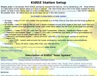 DXZone KI0DZ Solar System