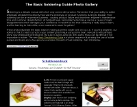 The Basic Soldering Guide Photo Gallery