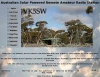 VK5SW Australian  Solar  Powered  Station
