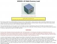 DXZone A 25 Watt Dummy Load