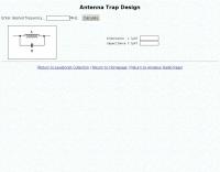 Antenna Trap Calculator