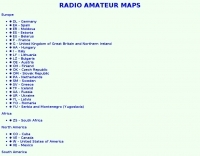 Radio Amateur Maps