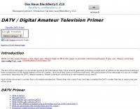 DXZone DATV Primer