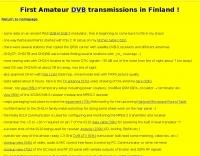 Digital Amateur Television