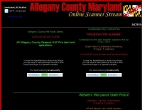Allegany County Scanner