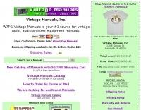 W7FG Vintage Manuals
