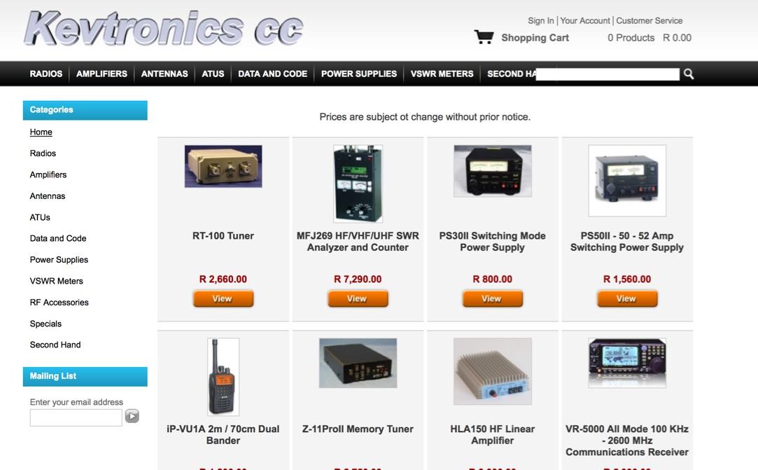 DXZone Kevtronics