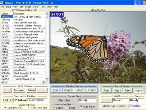 DXZone InterAce  SSTV