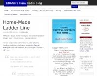 Home-Made Ladder Line
