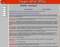 Laser Hot Hits