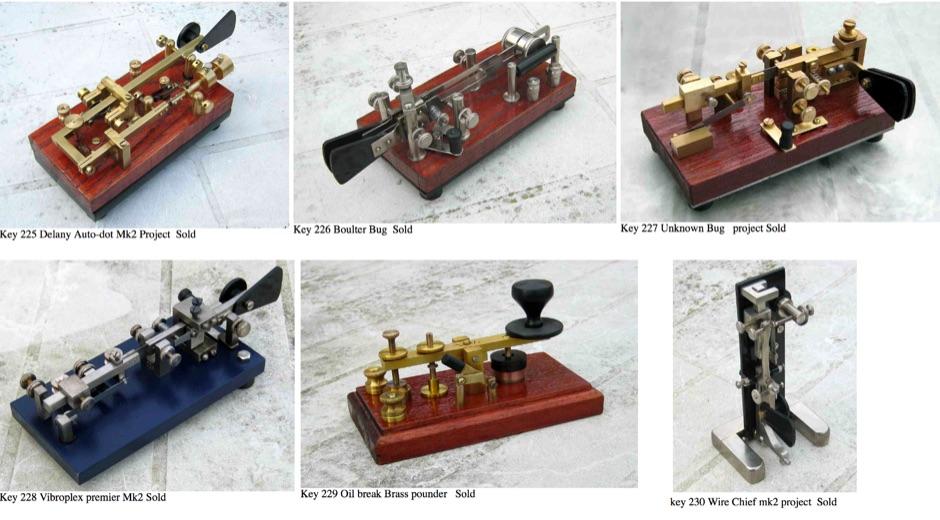DXZone G3YUH Morse Keys