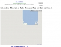 Visual UK Amateur Radio Repeater Map