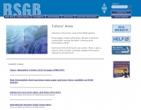 RSGB Tutor website