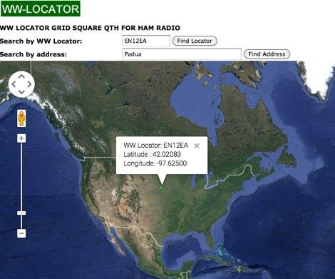 DXZone WW-Locator with Google Maps