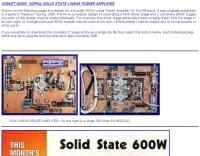 600W 50Mhz power amplifier
