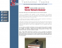 N2PK Vector Network Analyzer