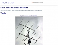DXZone Four over Four for 144MHz