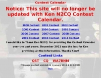 Monthly QRP contest calendar