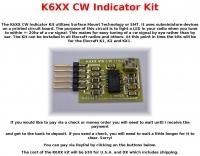 DXZone K6XX CW Indicator Kit