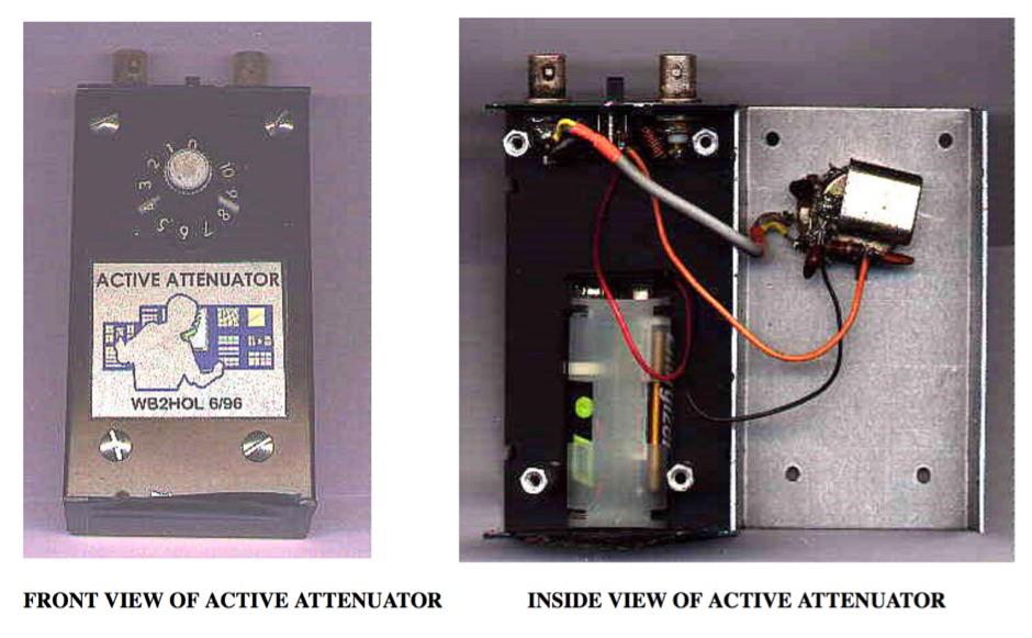 Active attenuator