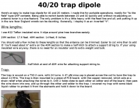 40/20 Trap Dipole