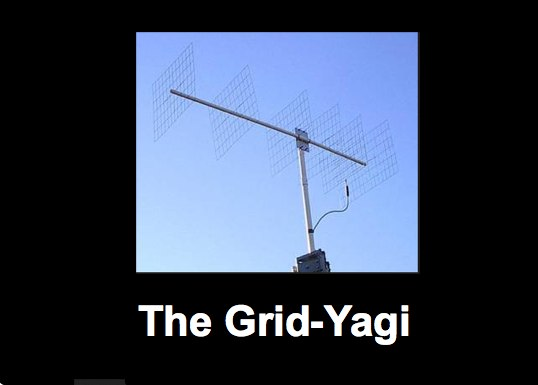 The Grid Yagi  for 144 Mhz