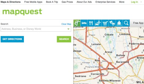 DXZone MapQuest