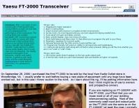 Yaesu FT-2000 Transceiver