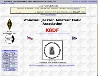 K8DF Stonewall Jackson Amateur Radio Association