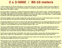 DXZone 2 x 3-500Z  HF Power Amp