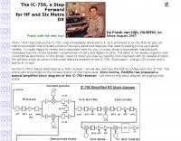 The IC-756 a Step Forward
