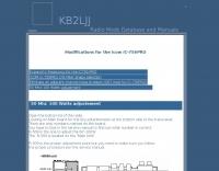 KB2LJJ  IC-756PRO modifications