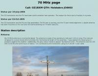 70 MHz Antenna