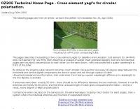 Circular polarized yagi