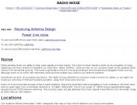 DXZone Radio Noise
