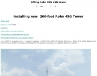 DXZone Lifting Rohn 45G 25G Tower