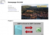 DXZone ADIF to Excel to ADIF Converter