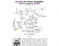 GS-35b HF Power Amplifier