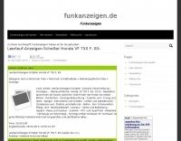 DXZone Funkanzeigen.de